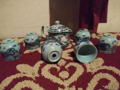 6 piece Chinese tea set