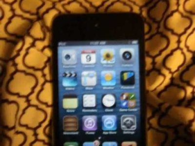 used iPod touch 4th generation works fine and has over 300 songs on mostly hip hop and rap iPod will come with a charger