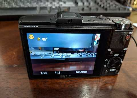 Sony Camera RX 100ii