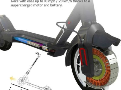 SWAGGER 5 ELITE ELECTRIC SMART SCOOTER FOLDING CITY COMMUTER