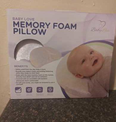 Baby Love Memory Foam Pillow