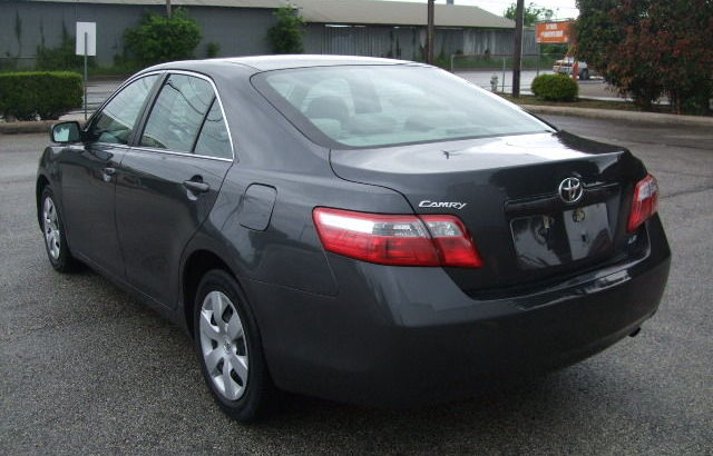 2008 TOYOTA CAMRY XLE LEATHER WOOD TRIM SUNROOF NA