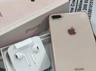 Rose gold iPhone 8plus