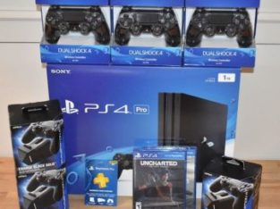 Sony PlayStation 4 Pro 1TB 4K Jet Black Console