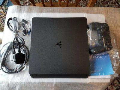 Sony PlayStation 4 Pro 1TB 4K Jet Black Console