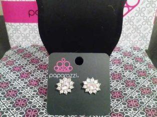 Earrings pink