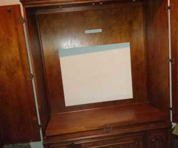 two-piece armoire