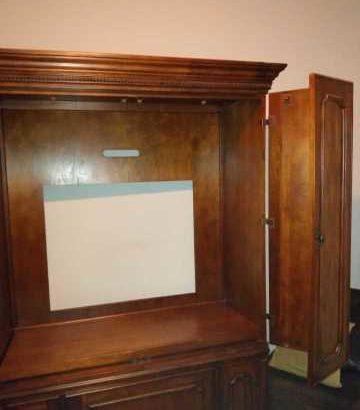 two peace armoire