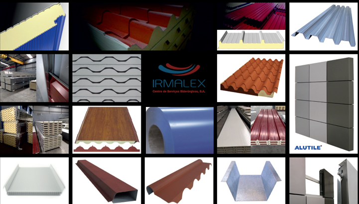 Sandwich Panels, flat and profiled sheets