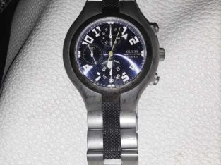 mens water resistant steel watch