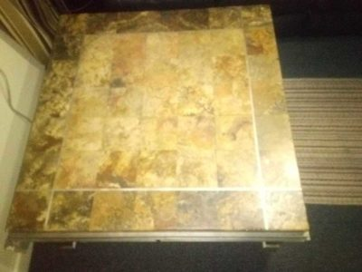 NEW MARBLE COFFEE TABLE
