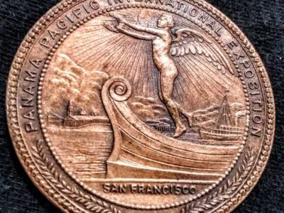 Panama Pacific Int Expo medals collectors edition