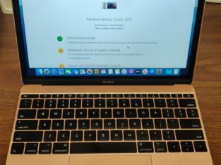 Near Mint 2017 12″ Retina MacBook 256gb