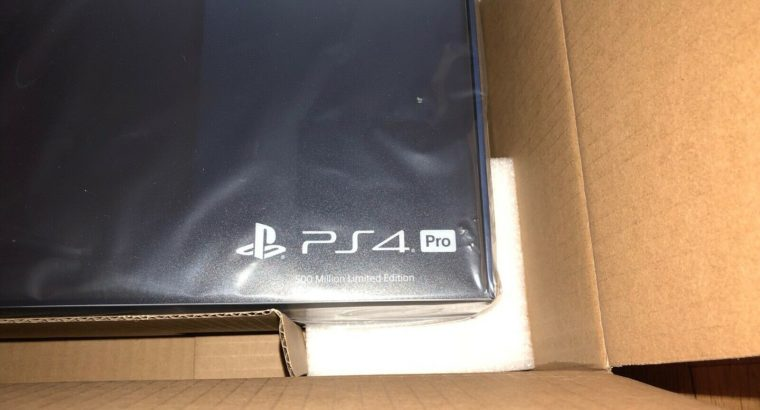 PlayStation 4 PS4 Pro 2TB 500 Million Limited Edit