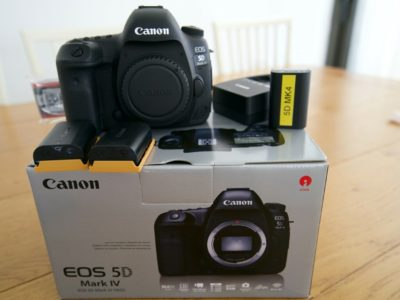 Canon EOS 5D Mark IV 30.4MP Digital SLR Camera –