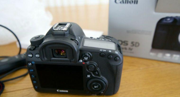 Canon EOS 5D Mark IV 30.4MP Digital SLR Camera –