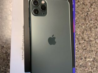 Apple iPhone 11 Pro Max – 256GB – Midnight Green