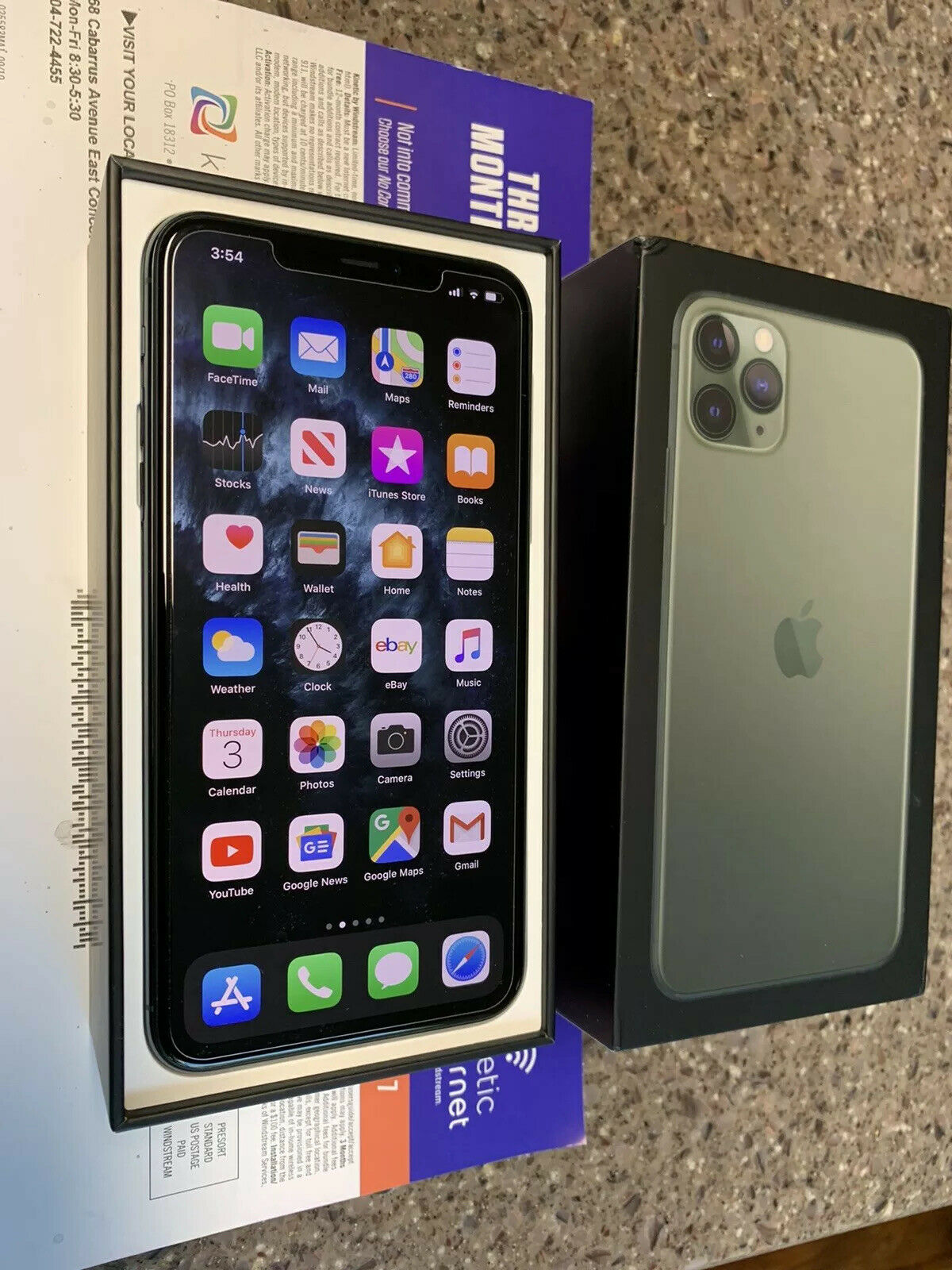 Apple iPhone 11 Pro Max \u2013 256GB \u2013 Midnight Green \u2013 Buy and
