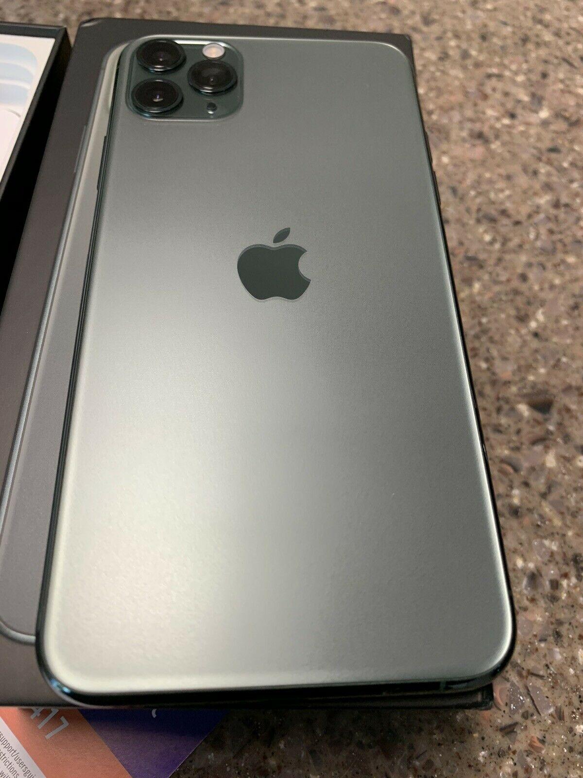Apple iPhone 11 Pro Max - 256GB - Midnight Green ...