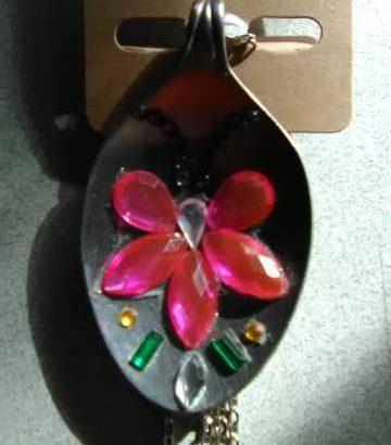 Spoon Pendant Necklaces
