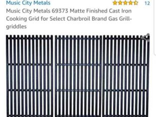 OUTDOOR CAST IRON GRILL