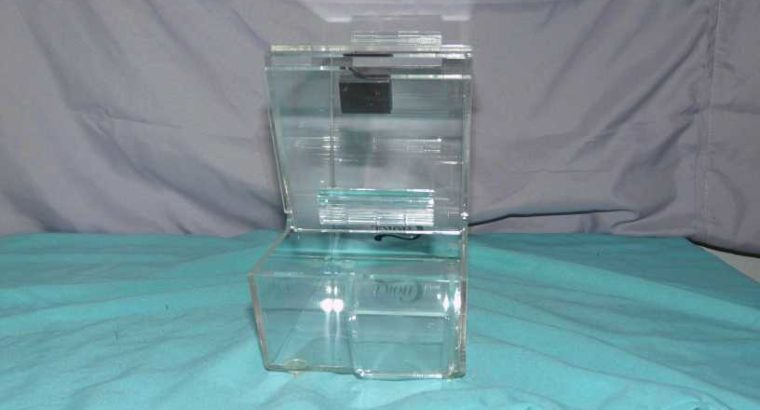 TABLE TOP KING BRAND NEW STACKABLE TOPPING DISPENSER SET OF 2