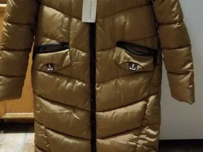 JUST FASHION NOW ZIP UP PUFFY COAT.