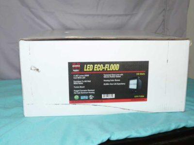 MORRIS 71355 LED ECO-FLOODLIGHT WITH TRUNION, 5000K, 93W, 8396 lm, 120-277V BRONZE