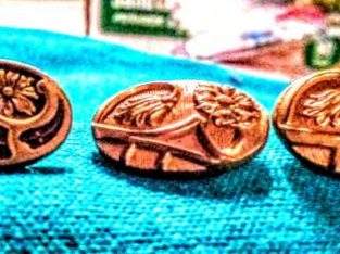 1900s Antique Art Deco Good filled Cufflinks