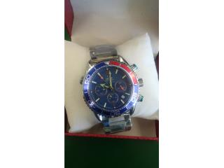 XMAS GIFT! New Omega red/blue Seamaster watch