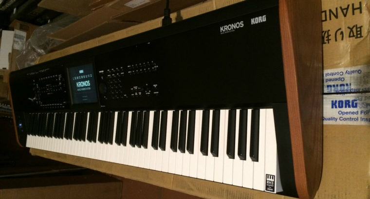 Korg Kronos 2 88 Key Music Synthesizer Workstation