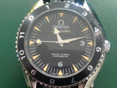 007 Omega Spectre watch automatic