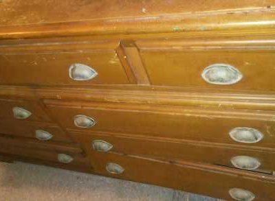 Brown Dresser