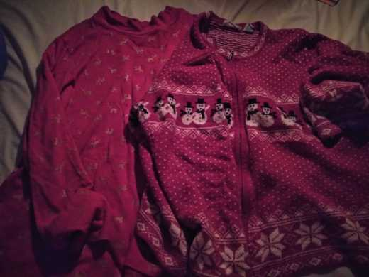 1 blouse 1 sweater