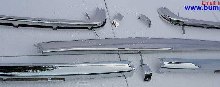 Stainless steel Bumper for Mercedes W107 R107