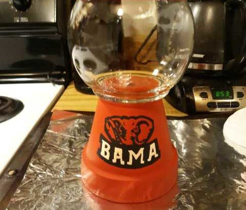 Terracotta Candy Jar