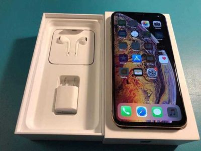 Brand New IPhone Xs Max 256GB at an affordable price comes with complete accessories