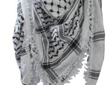 Premium Arabic Scarf 100% Cotton Shemagh Keffiyeh