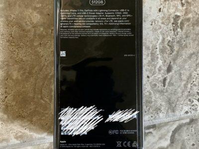 NEW iPhone 11 Pro – 512GB – Gold **Factoryunlocked