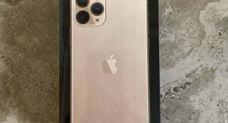 NEW iPhone 11 Pro – 512GB – Gold **Factoryunlocked