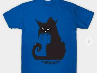 Angry cat amazing cat T-shirt