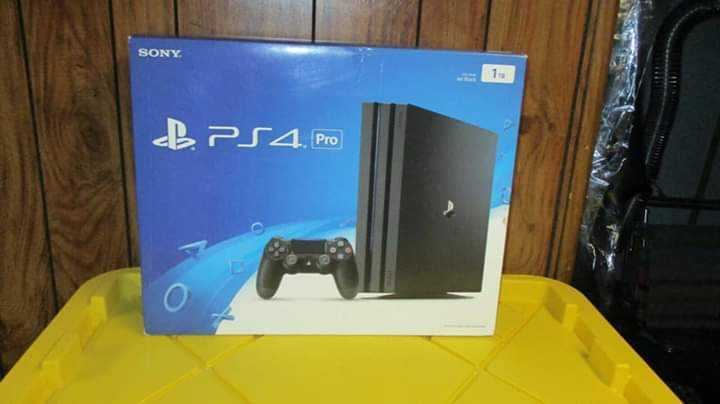 brand new play station 4 pro