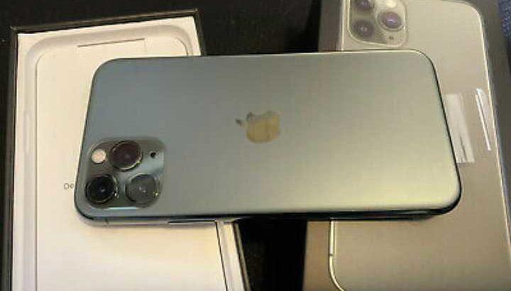 Apple iPhone 11 Pro – 64GB – MidnightGreen (Unlocked)