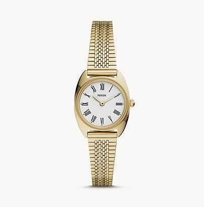 Watch  Fossil Woomen Jude Mini Two-Hand Gold-Tone Stainless Steel Watch