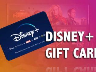 Disney + redeem code