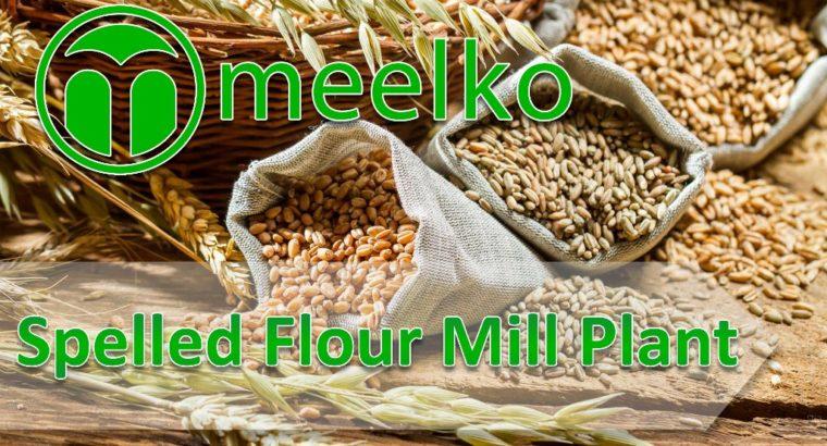 Spelt Flour Mill Plant