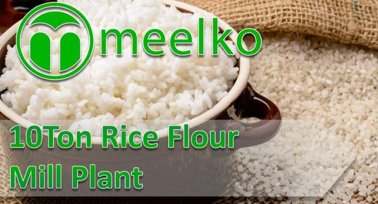 Rice Flour Mill Plant 10Ton. Buy Now!