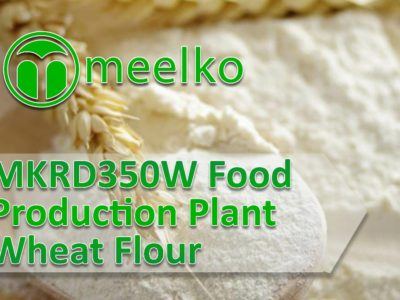 MKRD350W Food Production Plant Wheat Flour.