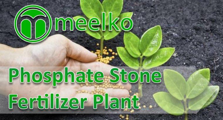 Phosphate Stone Fertilizer Plant. Buy Now!