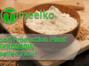 Food Production Plant MKRD350W Spelled Flour. Buy